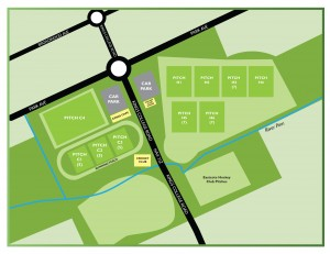 Playing fields map NEW 2